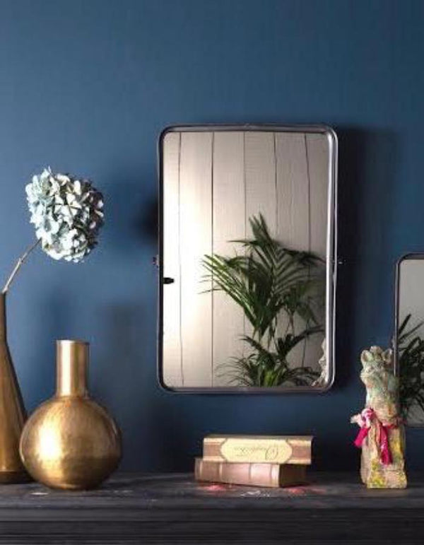 Tilt-able Iron Wall Mirror