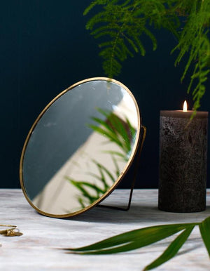 Gold Framed Vanity Mirror