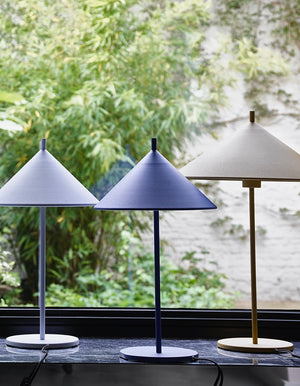 Triangular Table Lamps In A Choice Of Colours. PRE ORDER JANUARY