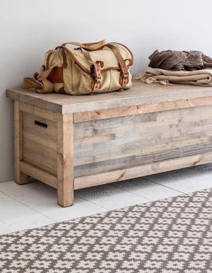 Wooden Bench Box