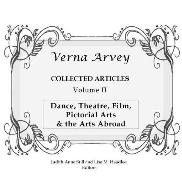 Verna Arvey Collected Articles Vol 2