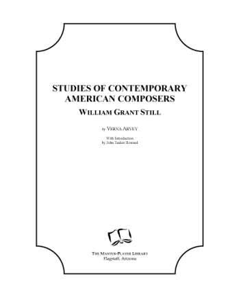Studies of Contemporary American Composers