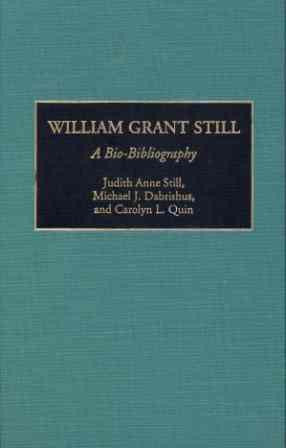 William Grant Still Bio-Bibliography