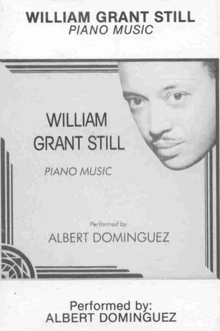 Piano Music of William Grant Still Cassette