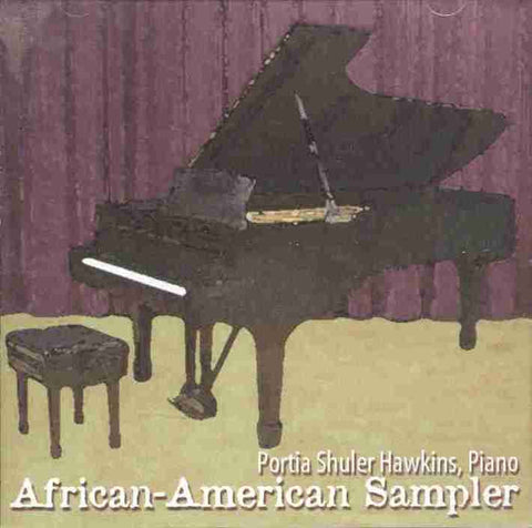 African-American Sampler (Piano-Violin) CD