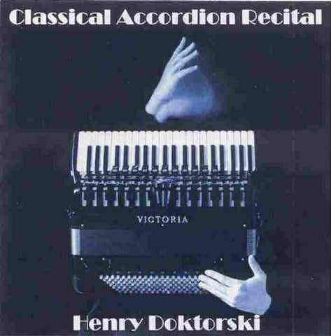 Classical Accordion Recital CD