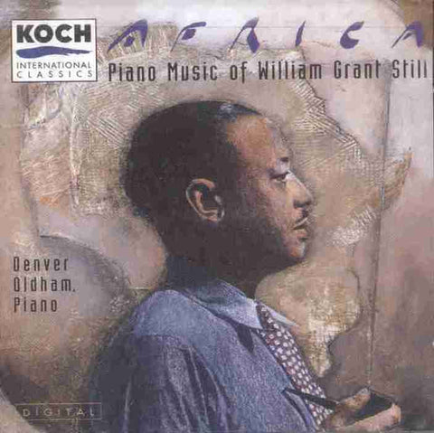 Africa - Piano Music of William Grant Still CD