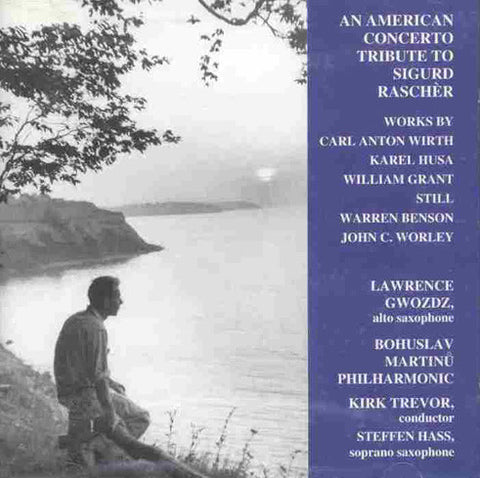 American Concerto Tribute to Sigurd Rascher (Orch-Sax) CD