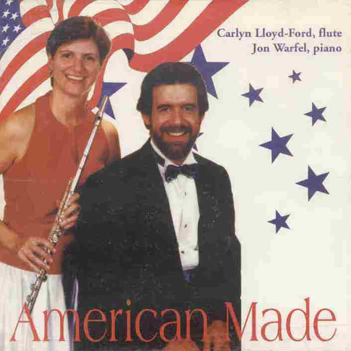 American Made (Flute Music) CD
