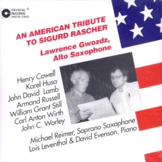 American Tribute to Sigurd Rascher (Orch-Sax) CD