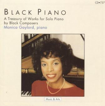 Piano Music of Black Composers CD