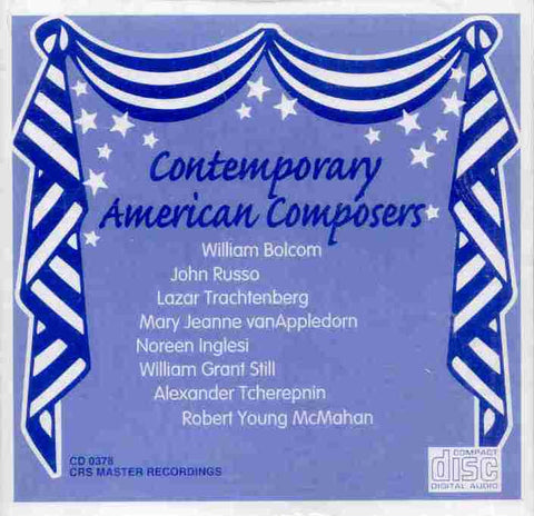 Contemporary American Composers (Accordion) CD