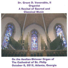 Recital of Sacred and Classical Music CD