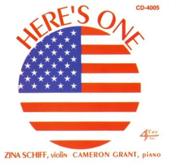 Here's One (Violin Music) CD