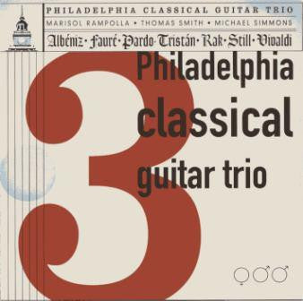 Philadelphia Classical Guitar Trio CD