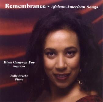Remembrance: African-American Songs (Instr-Vocal) CD
