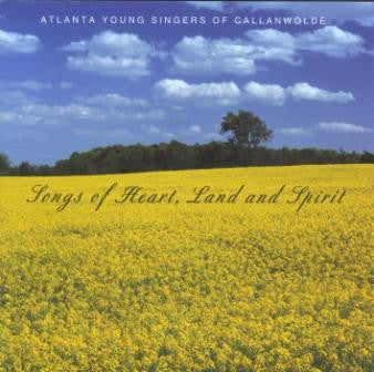 Songs of Heart, Land and Spirit - Choral CD