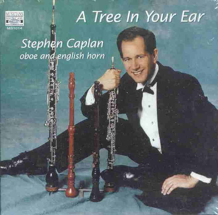 Tree in Your Ear (Piano-Flute-Oboe) CD