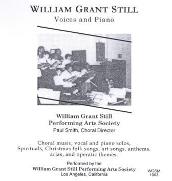 William Grant Still: Voices and Piano CD