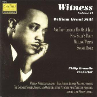 Witness II - Vocal and Choral CD