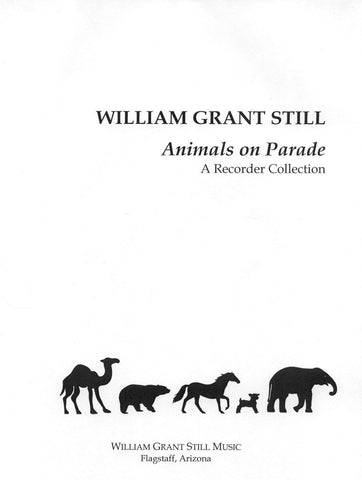 Animals on Parade: A Recorder Collection - Score and Parts