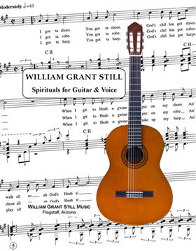 Spirituals for Guitar and Voice Vol 1