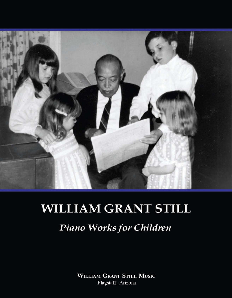 William Grant Still Piano Works for Children (with CD)