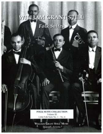 William Grant Still Folk Suite Collection Vol 3 (Score-Parts)