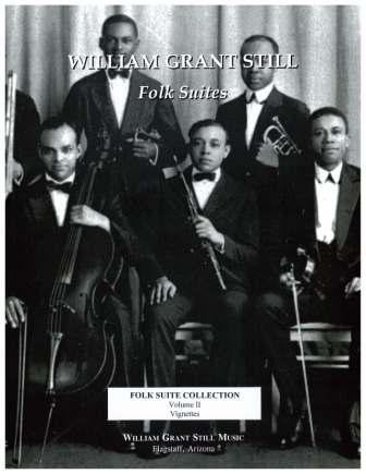 William Grant Still Folk Suite Collection Vol 2 (Score-Parts)