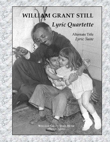 Lyric Quartette: Suite for Dbl Reed Qrt (Score-Parts)