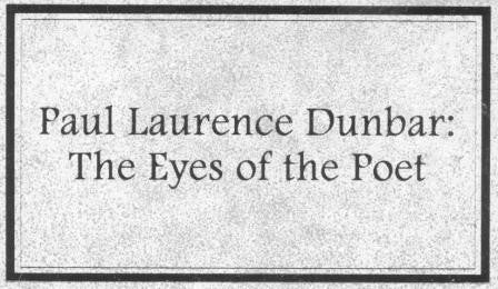 Paul Laurence Dunbar: The Eyes of the Poet DVD