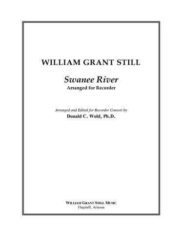 Swanee River - Arrangement - Score and Parts (recorder ensemble)