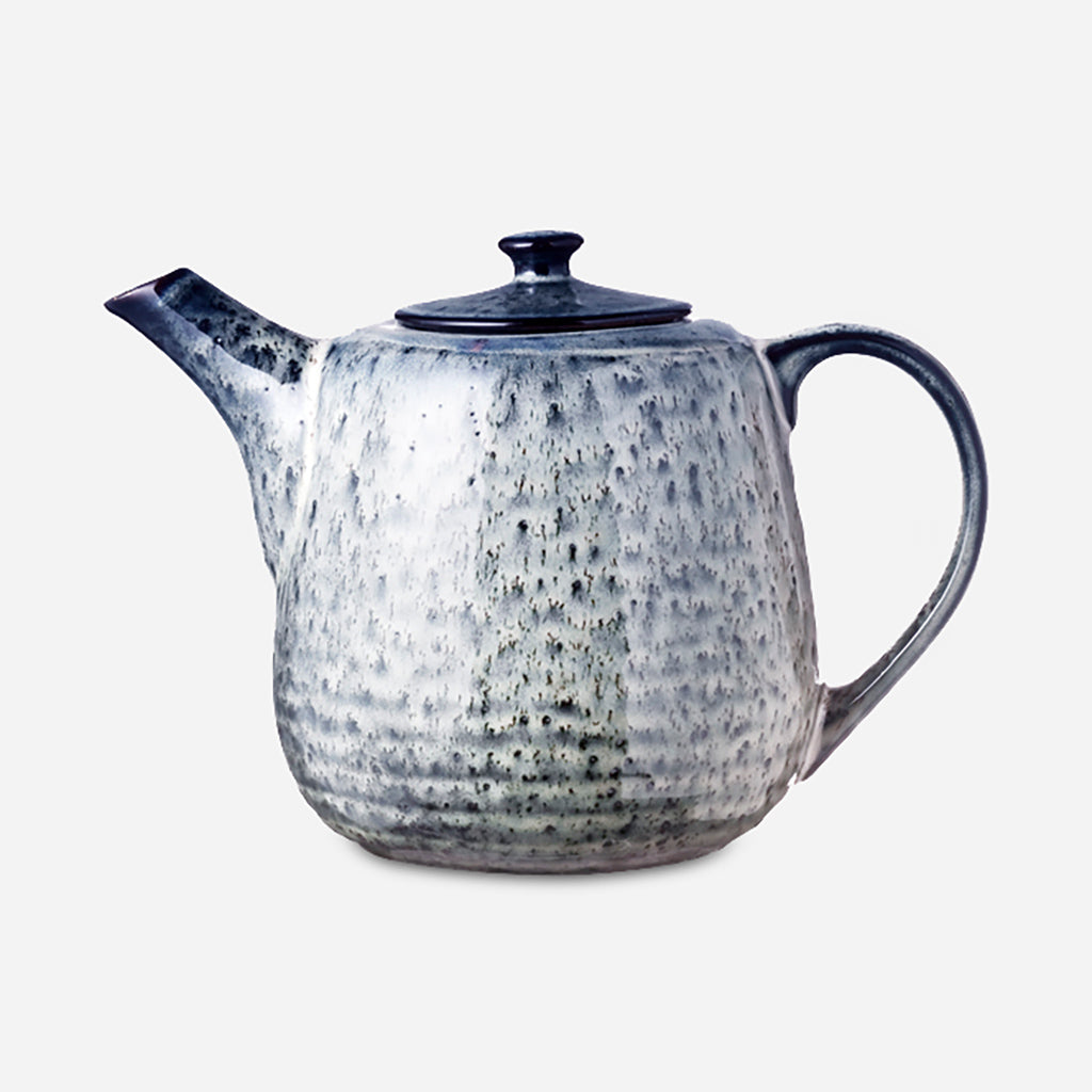 Nordic Sea Stoneware Teapot - Buy online or shop in the Jo & Co Lifestyle, Home and Furniture store in Wadebridge, North Cornwall, UK
