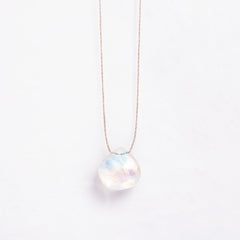 Rainbow Moonstone Necklace | Jo & Co Home | Wanderlust Life