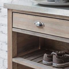 Spruce & Zinc Wooden Bootroom Unit