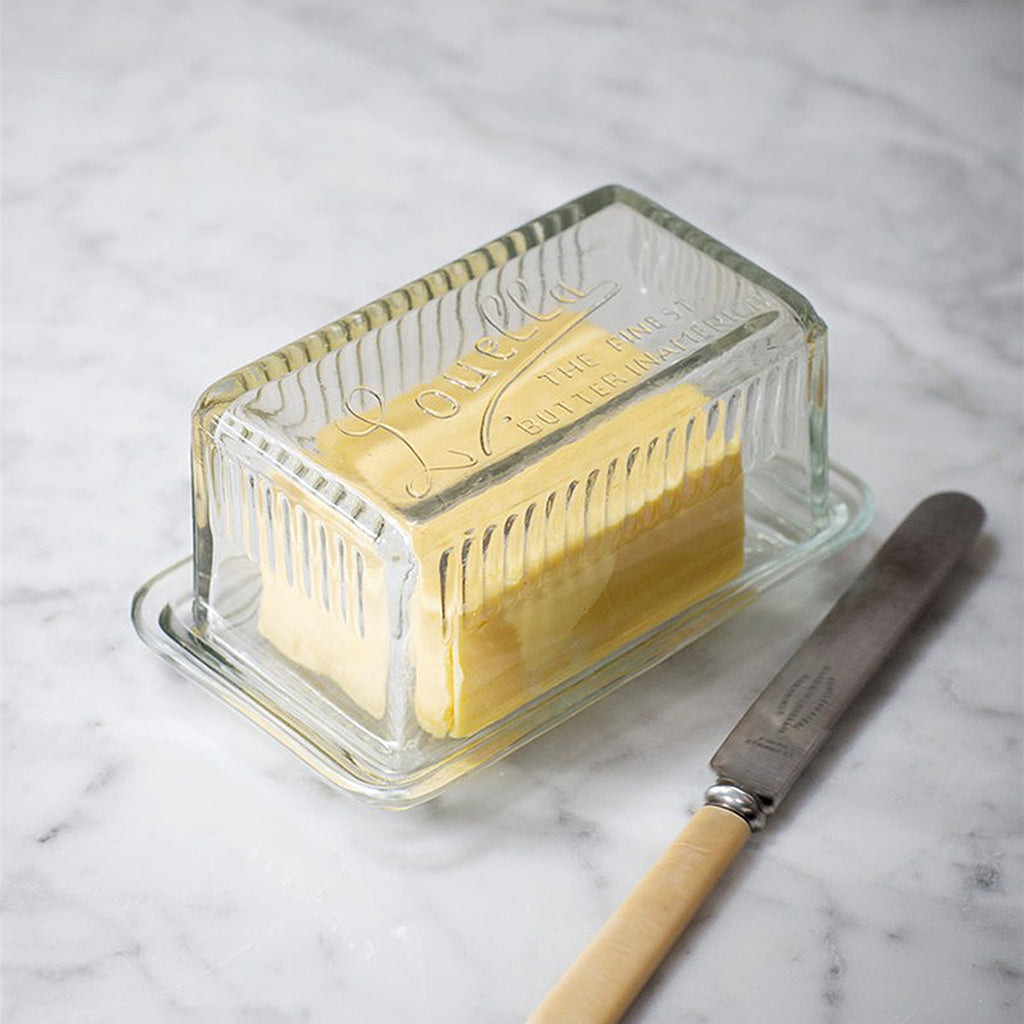 Louella Glass Butter Dish