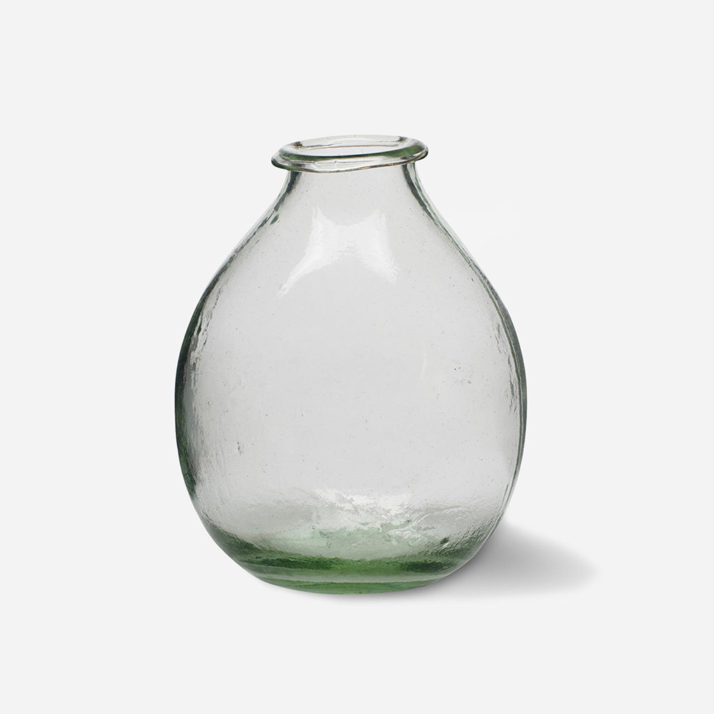 Large Recycled Glass Vase