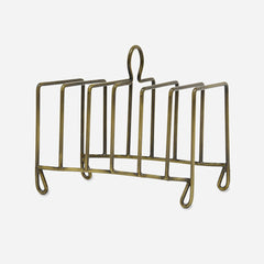 Antique Brass Toast Rack
