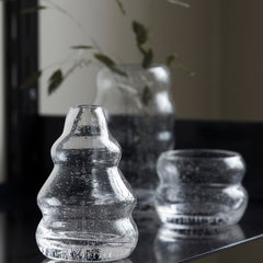Srina Clear Glass Vase