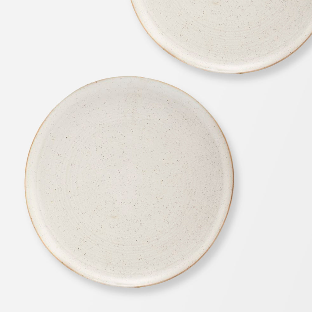 Pion Grey White Porcelain Dinner Plate