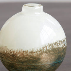 Earth Beige Metallic Vase