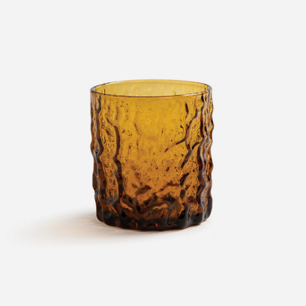 Amber Trunk Glass