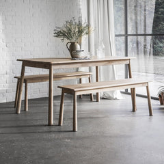 Highgate Oak Dining Bench