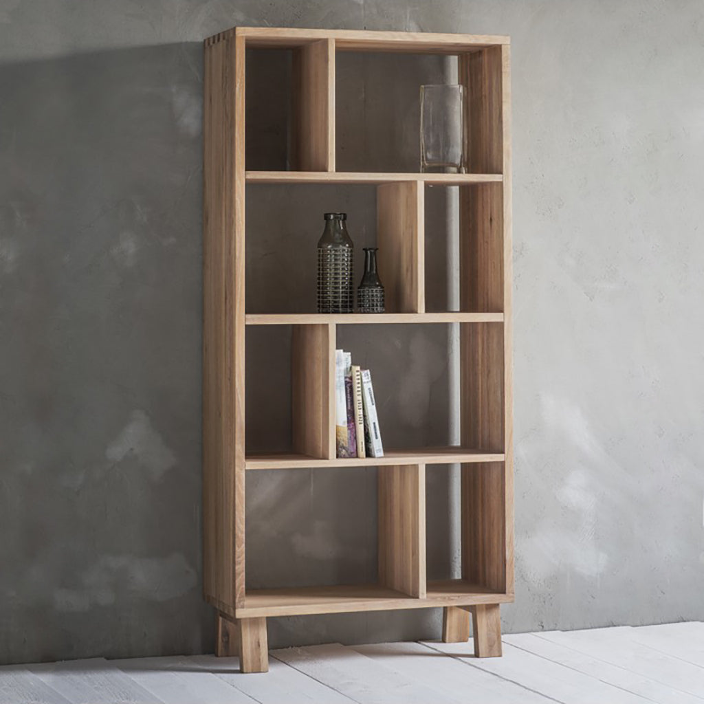 Solid Oak Scandi Display Unit