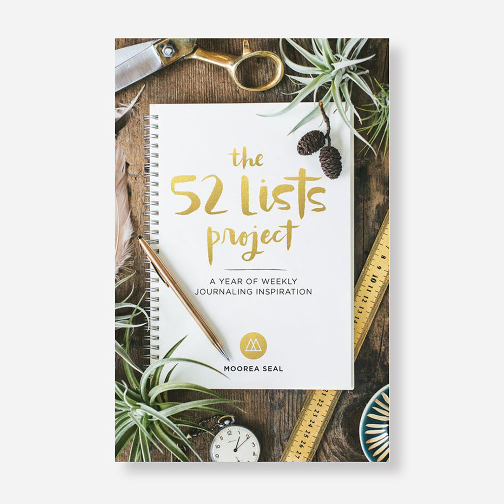 The 52 Lists Project Journal by Moorea Seal