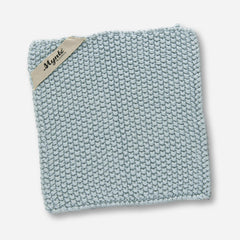 Mynte Nordic Sky Blue Knitted Pot Holder