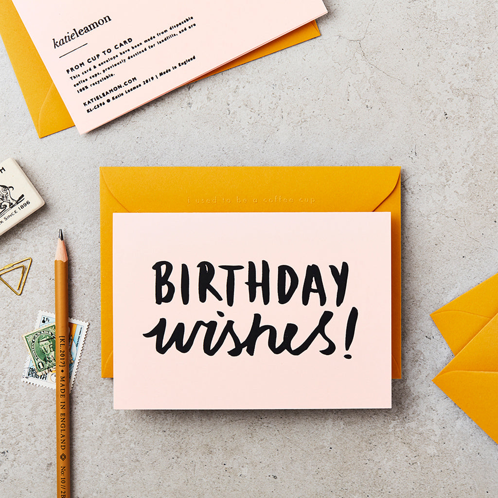 Katie Leamon Extract Birthday Wishes Card
