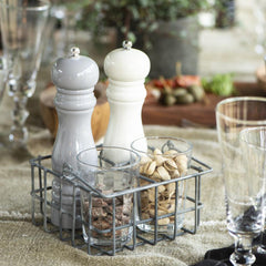 Grey Salt & Pepper Mill Set