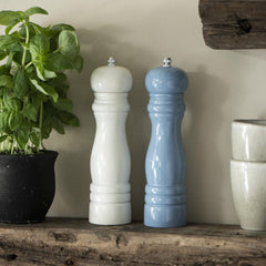 Light Blue Salt & Pepper Mill Set