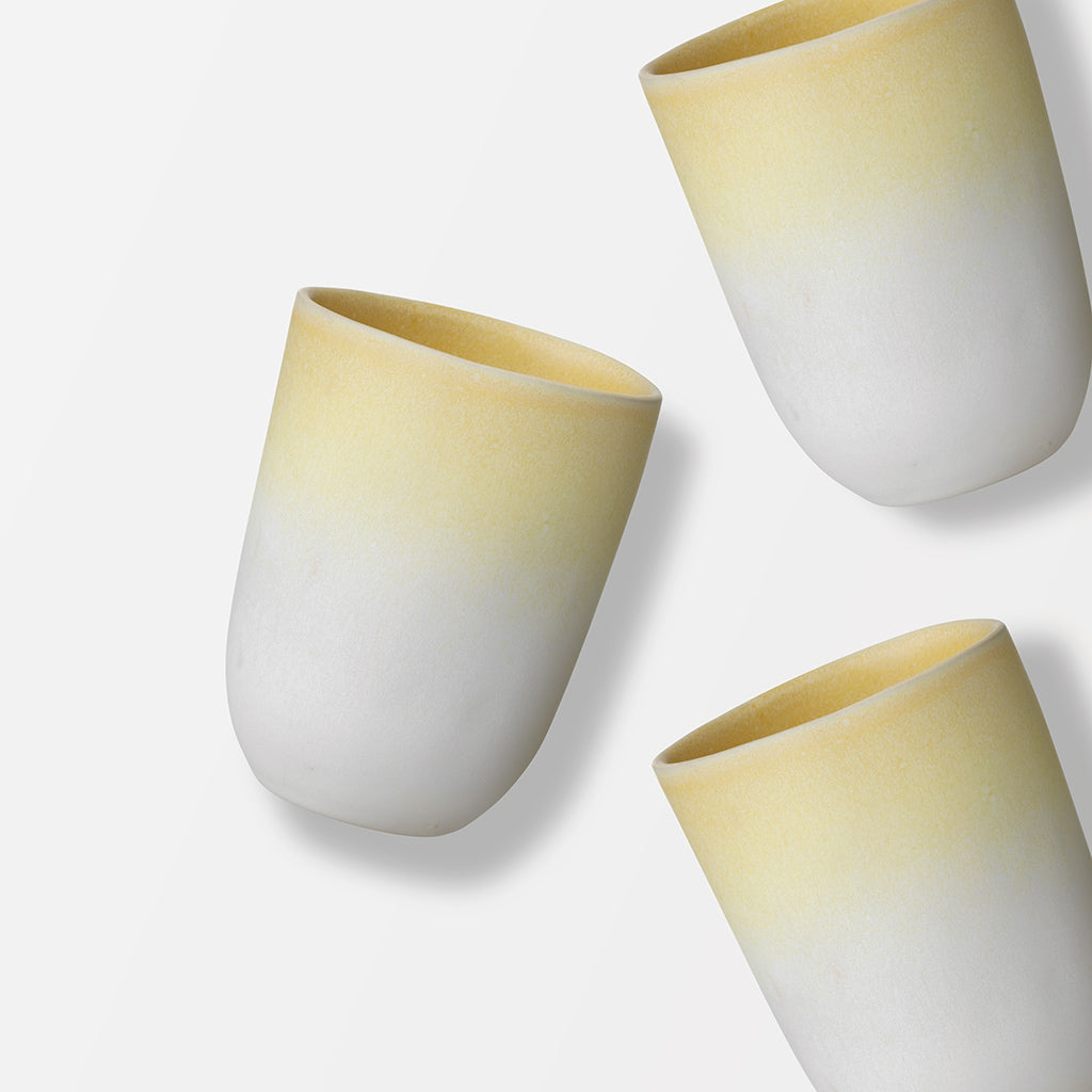 Lemon Yellow Jazz Cup